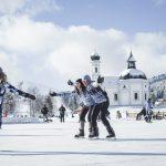 Eislaufen mit der Familie