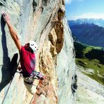 Klettern an der Schüsselkar-Südwand